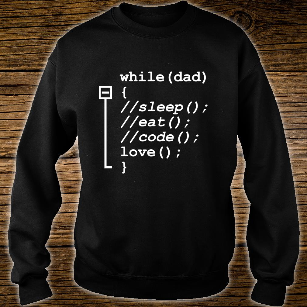Programmer Dad Sleep, Eat, Code Father's Day Shirt sweater
