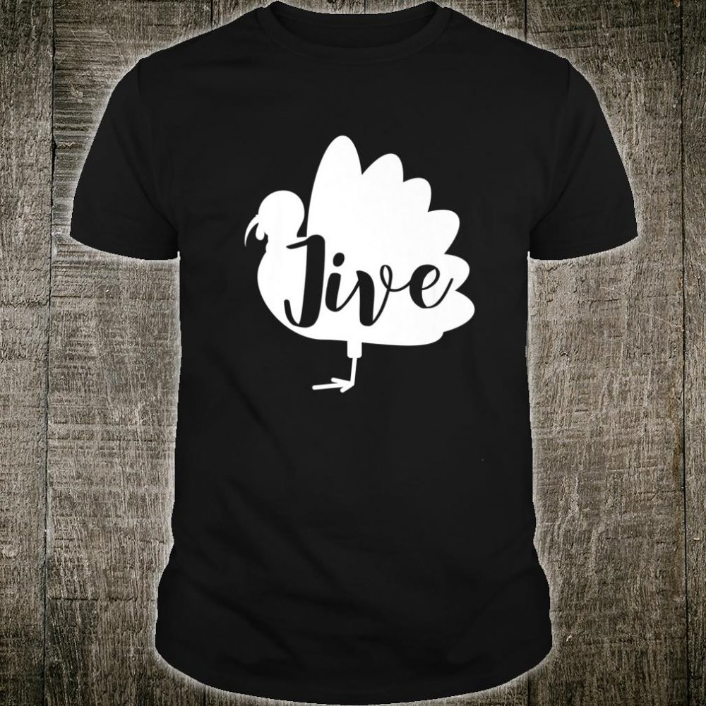 Retro Vintage Turkey Jive For Thanksgiving Shirt