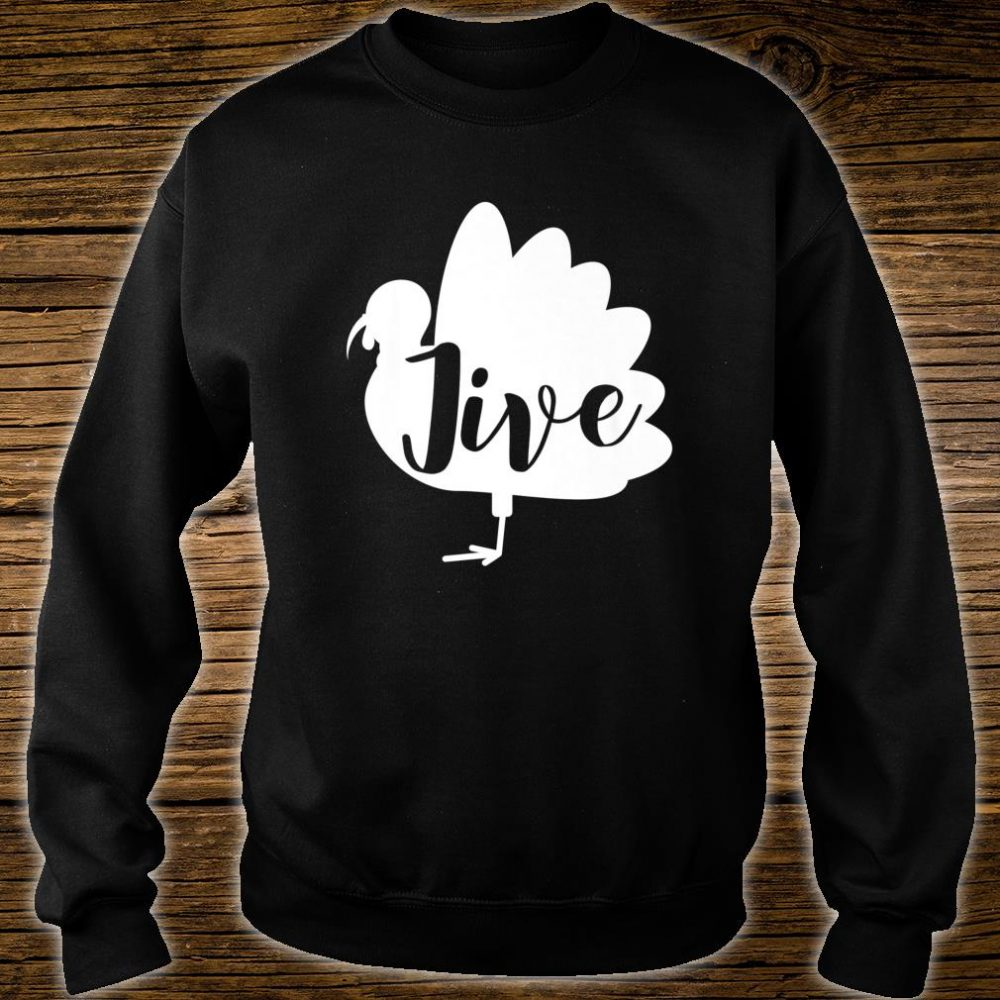 Retro Vintage Turkey Jive For Thanksgiving Shirt sweater