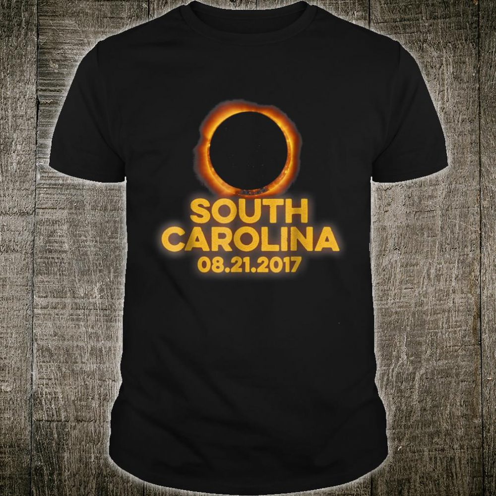 South Carolina August 21st 2017 Total Solar Eclipse Shirt