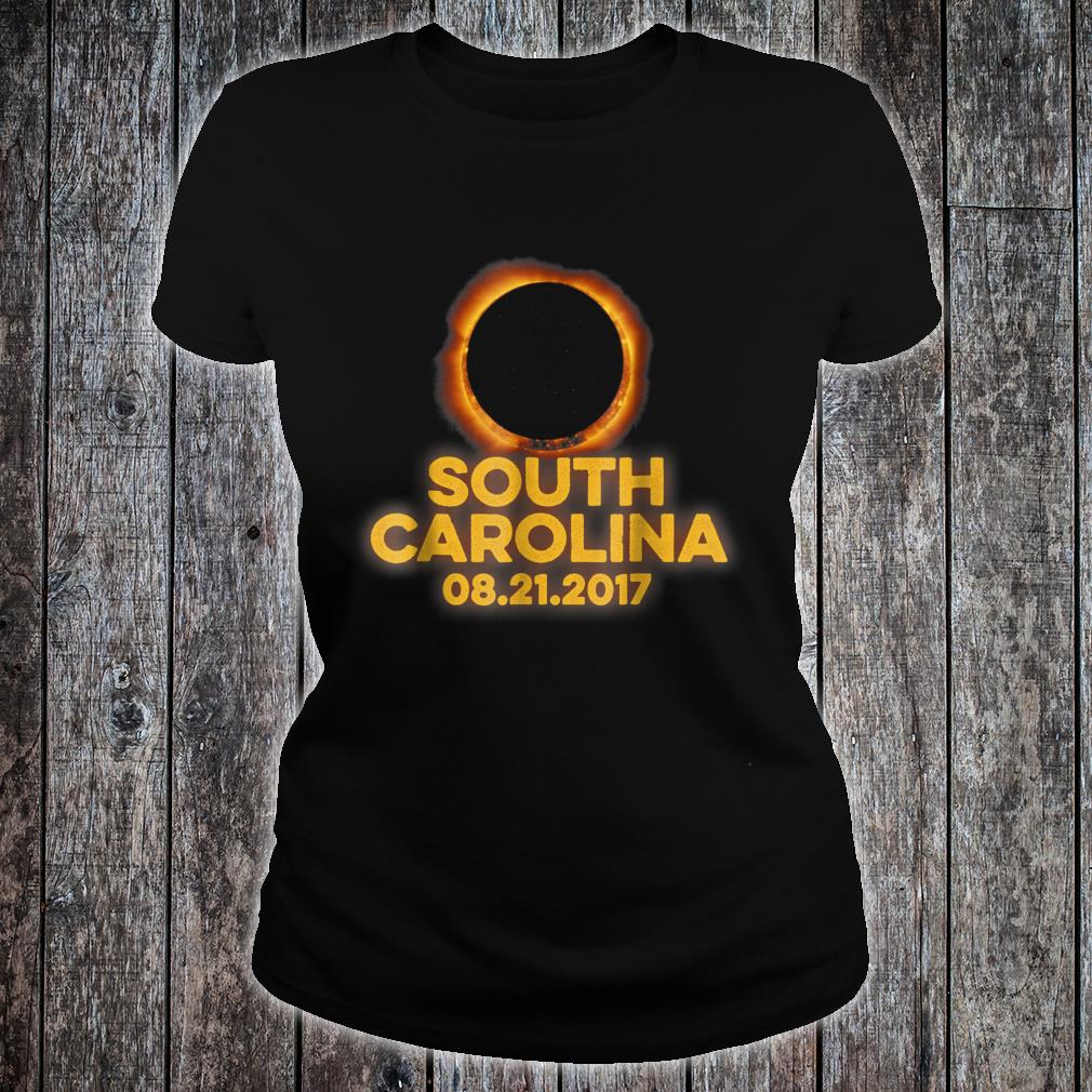 South Carolina August 21st 2017 Total Solar Eclipse Shirt ladies tee