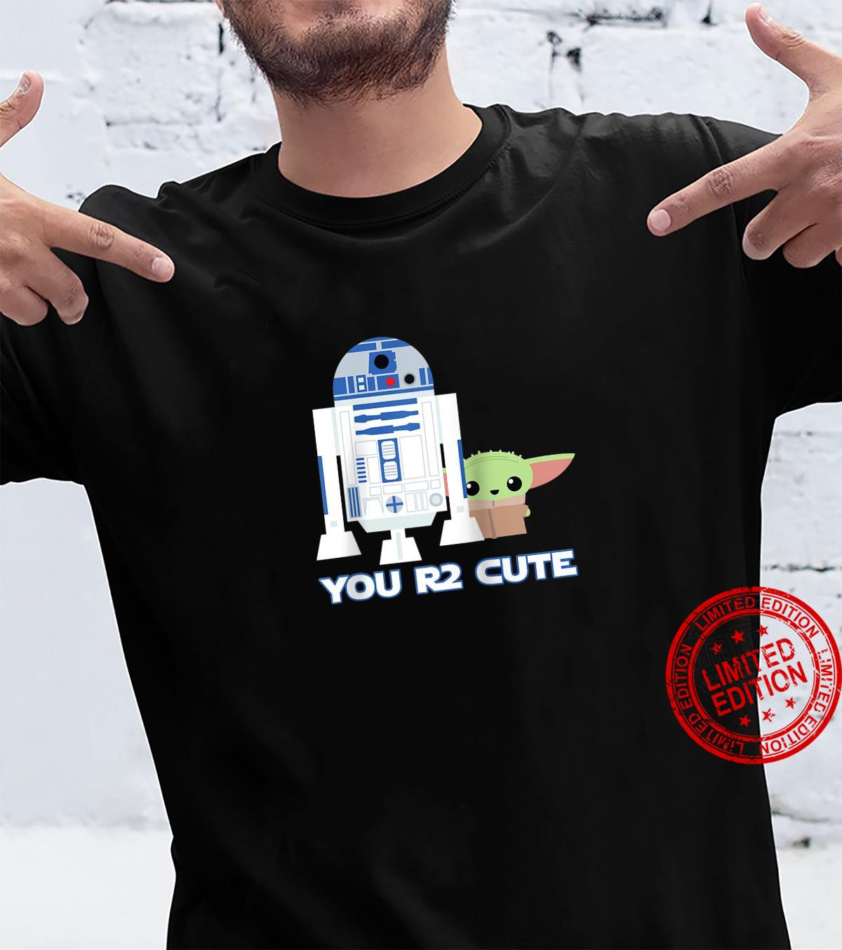Star Wars The Mandalorian the Child and R2D2 You R2 Cute Shirt