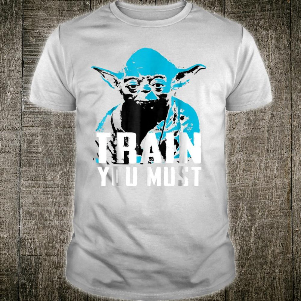 Star Wars Yoda Small You are Train You Must Shirt