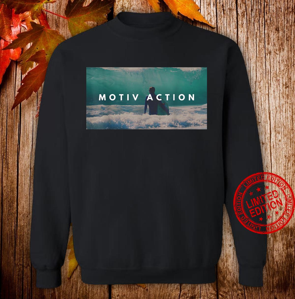 Stay active and motivation Shirt sweater