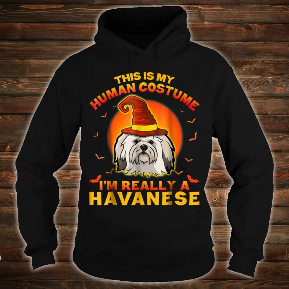 This Is My Hu Costume I'm Really A Havanese Shirt hoodie