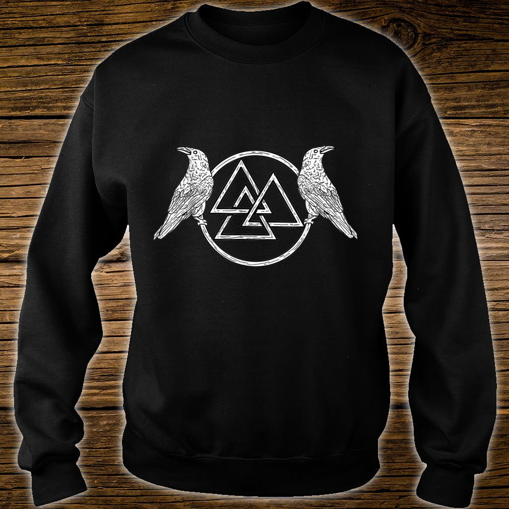 Viking Raven Odin Victory Or Valhalla Norse Shirt sweater