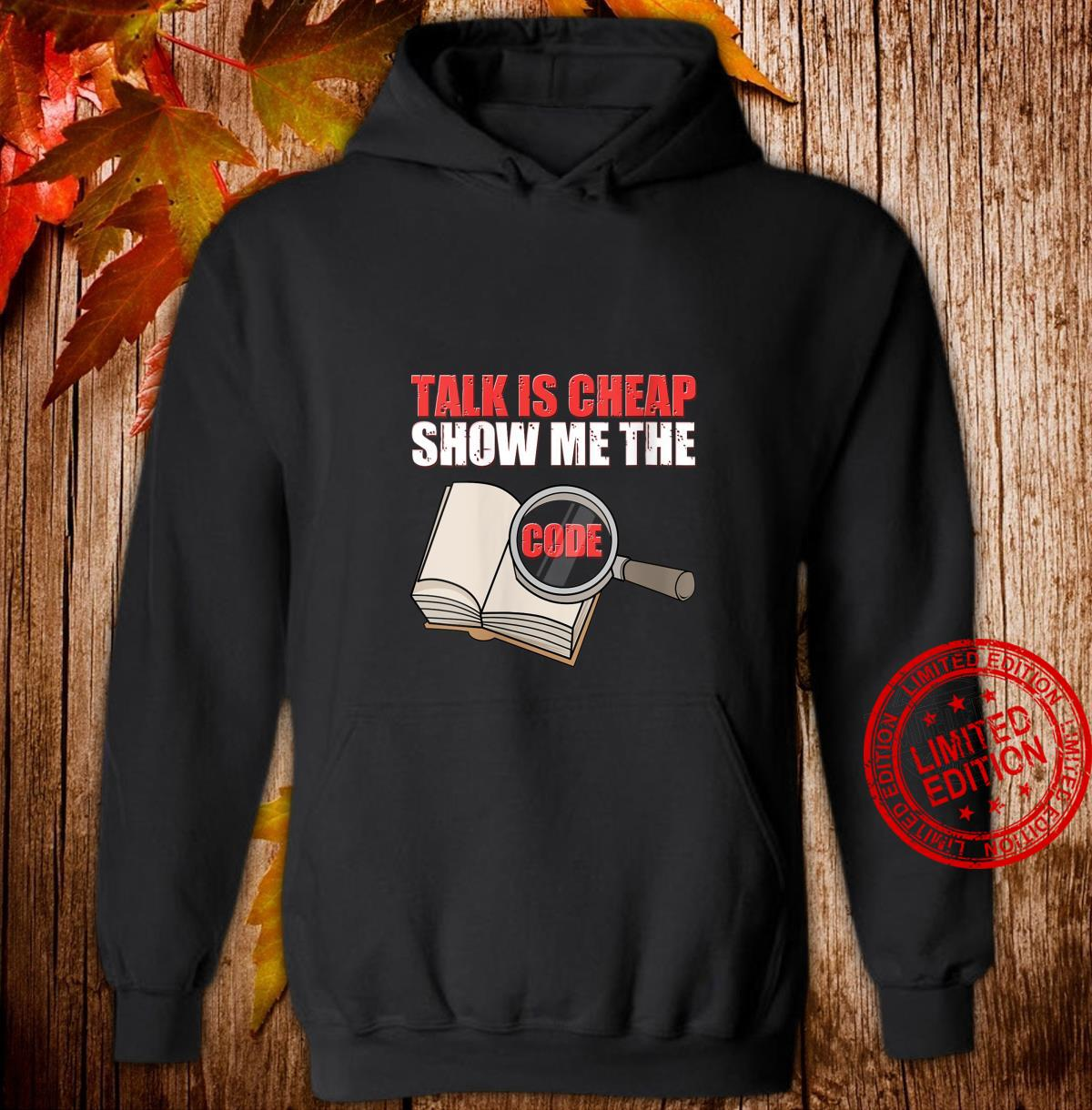 Womens Talk Is Cheap Show Me The Code It Engineer Shirt hoodie