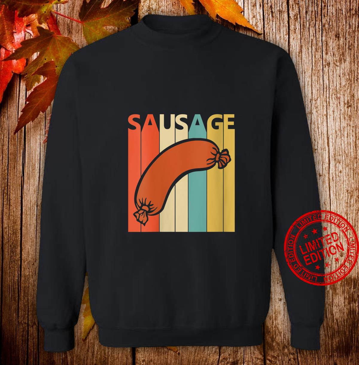 Womens Vintage Sausage Shirt sweater