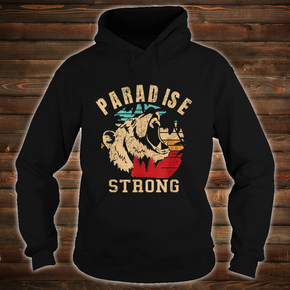 paradise camp fire california strong vintage Shirt hoodie